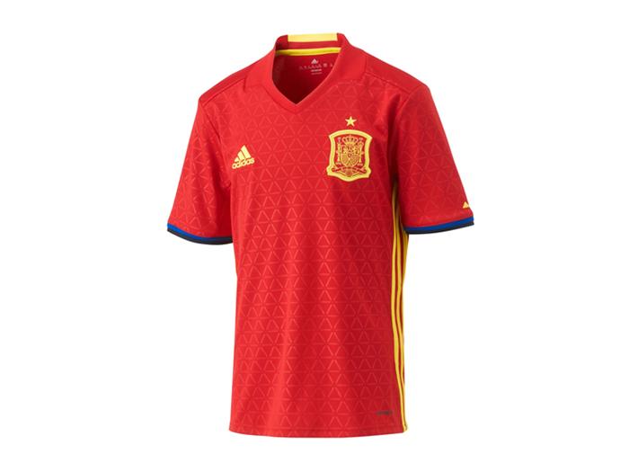 KIDS スペイン代表 2016 ホーム レプリカユニフォーム半袖