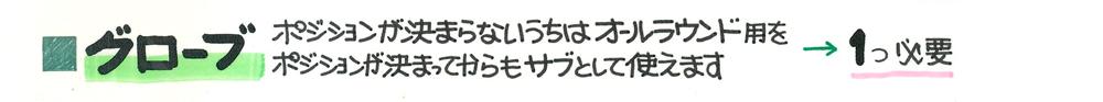 ■グローブ