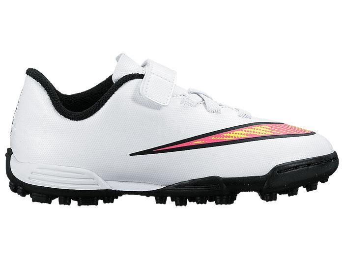 Lacrosse Shoes | Nike Huarache V WhiteLight Crimson